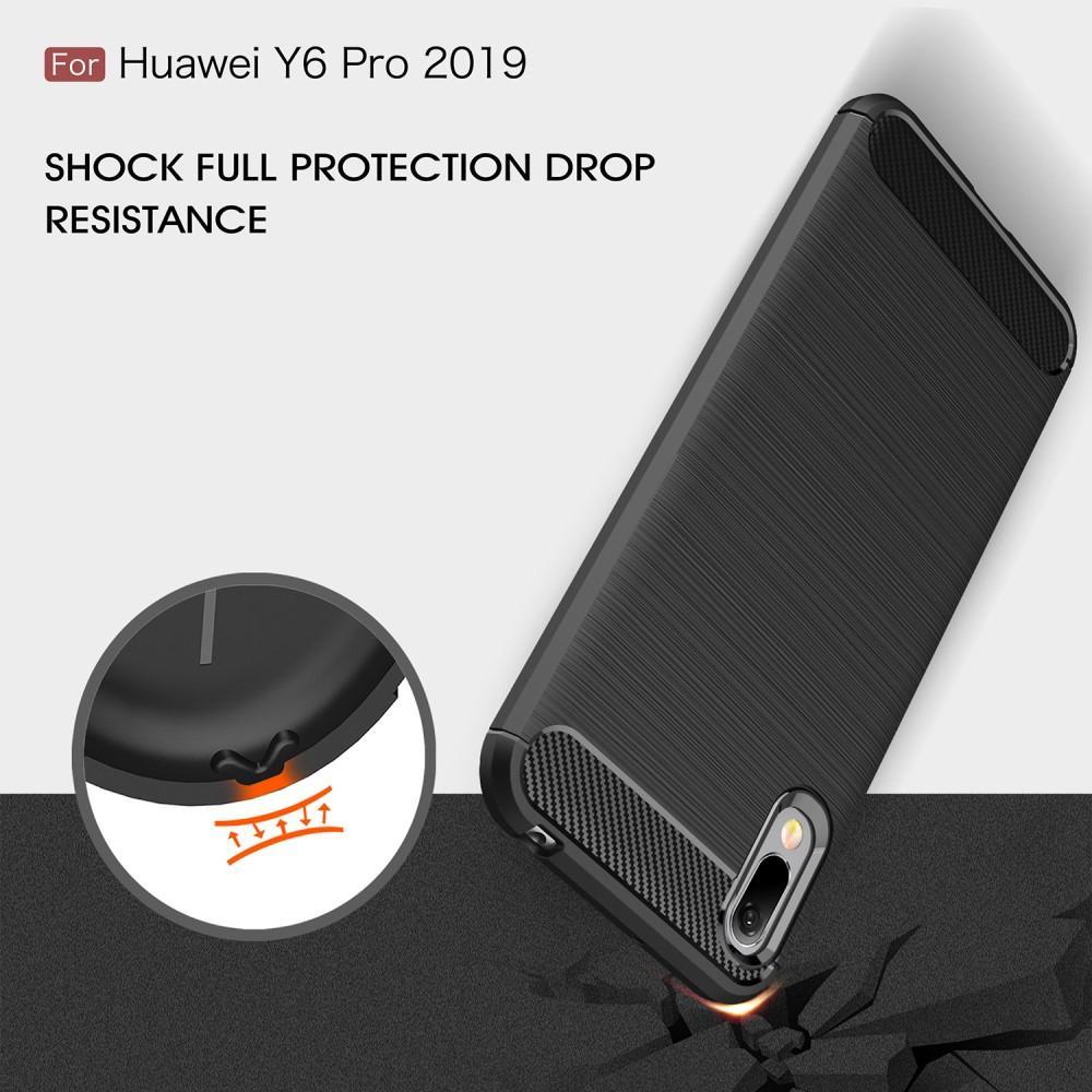 Brushed TPU Kuori Huawei Y6 2019 Black