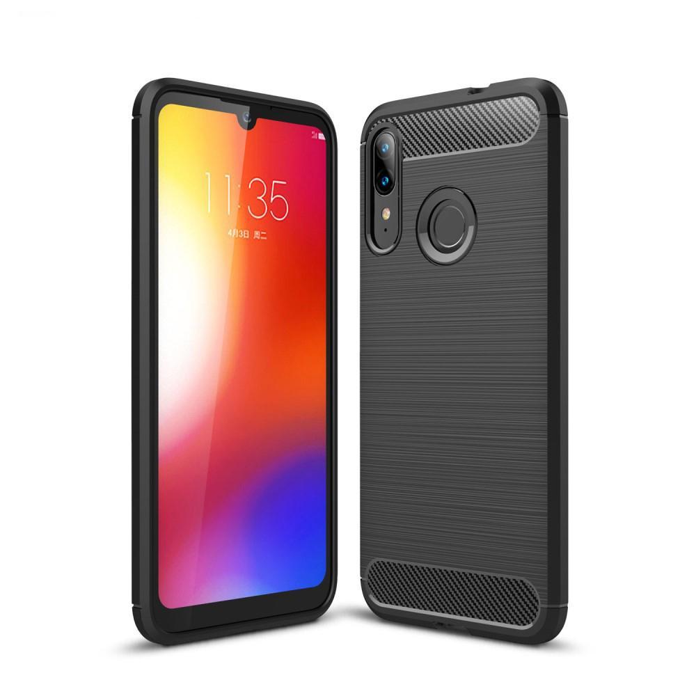 Brushed TPU Kuori Motorola Moto E6 Plus Black