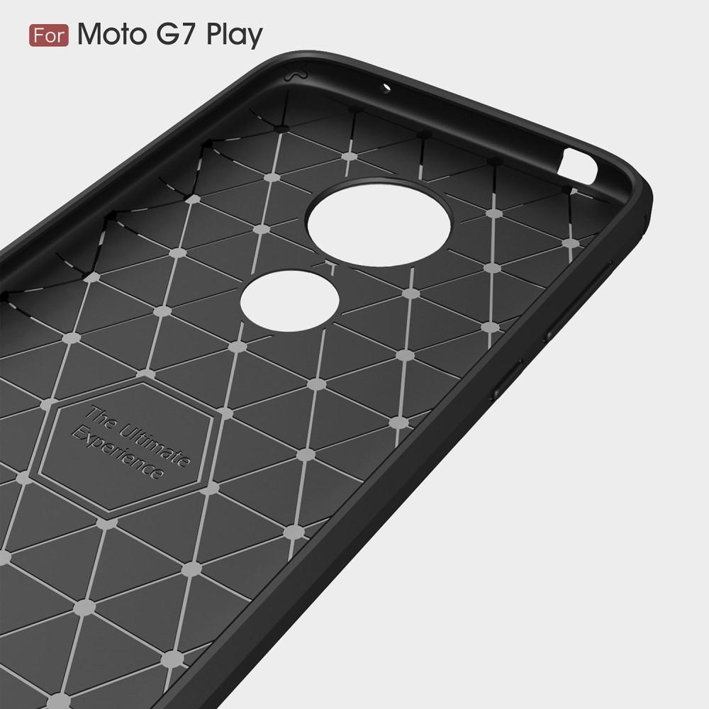 Brushed TPU Kuori Motorola Moto G7 Play Black