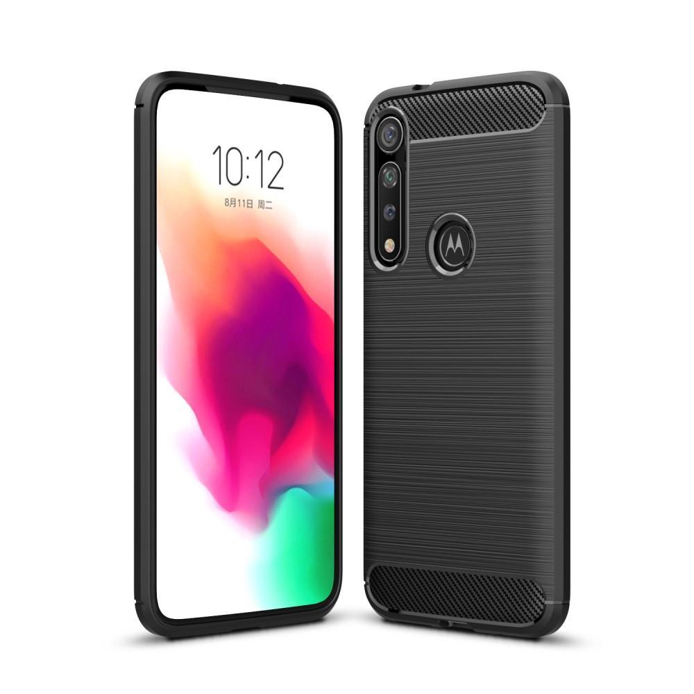 Brushed TPU Kuori Motorola Moto G8 Plus Black