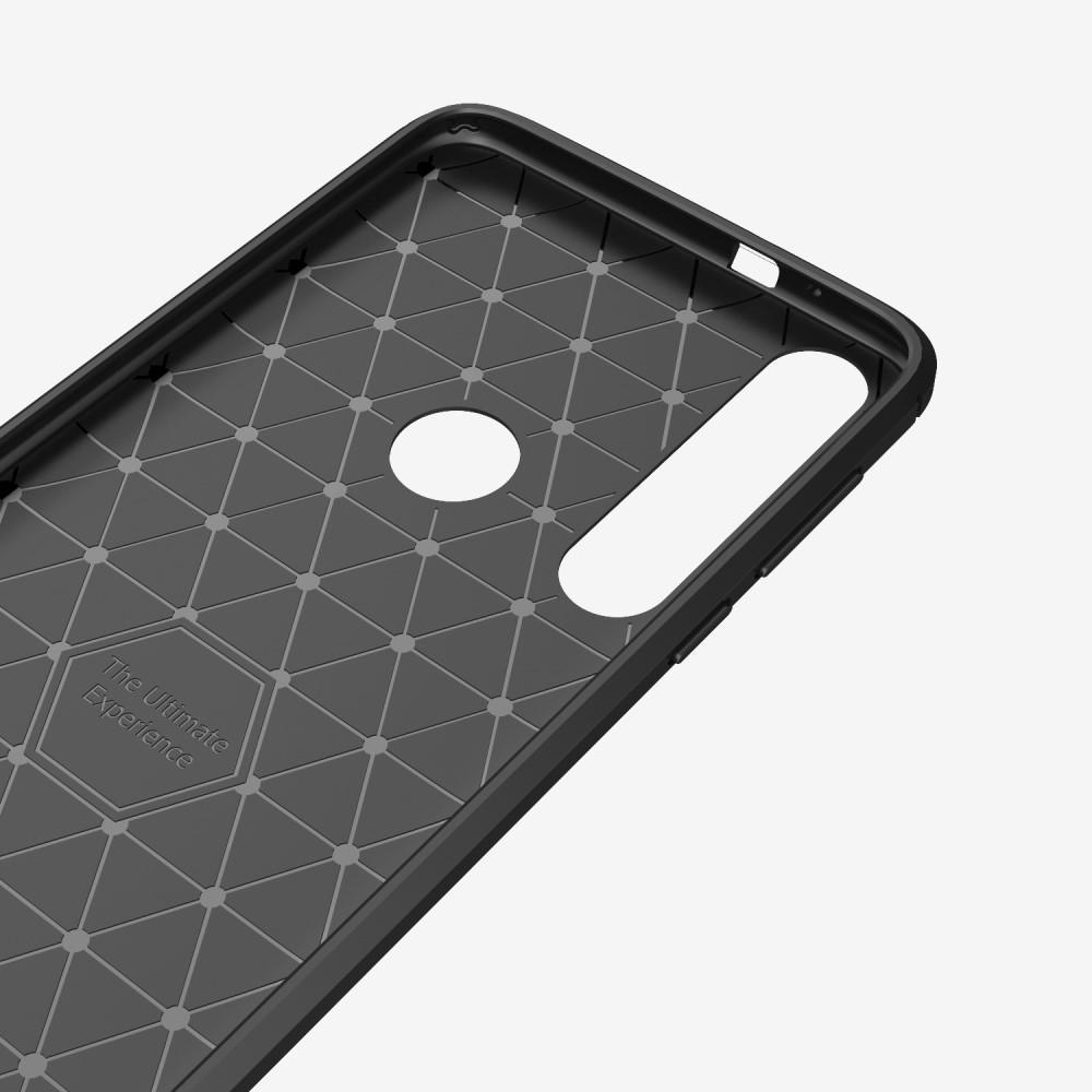 Brushed TPU Kuori Motorola One Macro Black