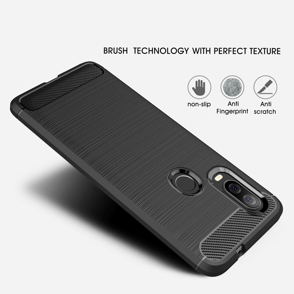 Brushed TPU Kuori Motorola One Vision Black