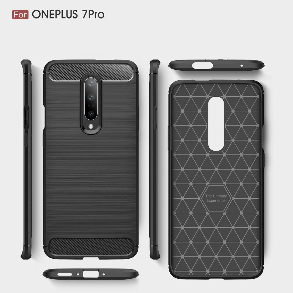 Brushed TPU Kuori OnePlus 7 Pro Black