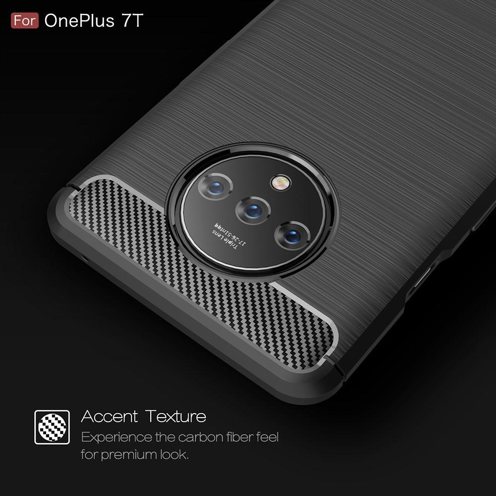 Brushed TPU Kuori OnePlus 7T Black