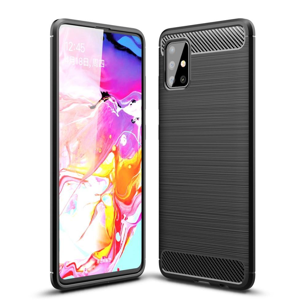Brushed TPU Kuori Samsung Galaxy A51 Black