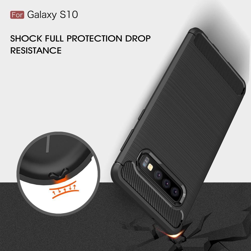 Brushed TPU Kuori Samsung Galaxy S10 black