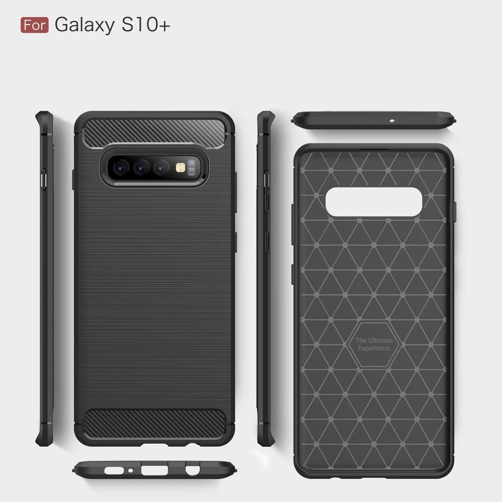 Brushed TPU Kuori Samsung Galaxy S10 Plus black