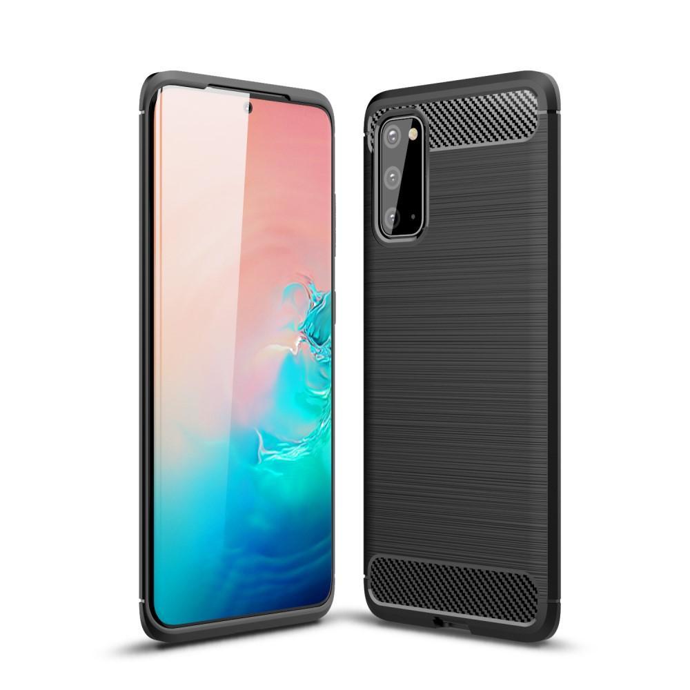 Brushed TPU Kuori Samsung Galaxy S20 Black