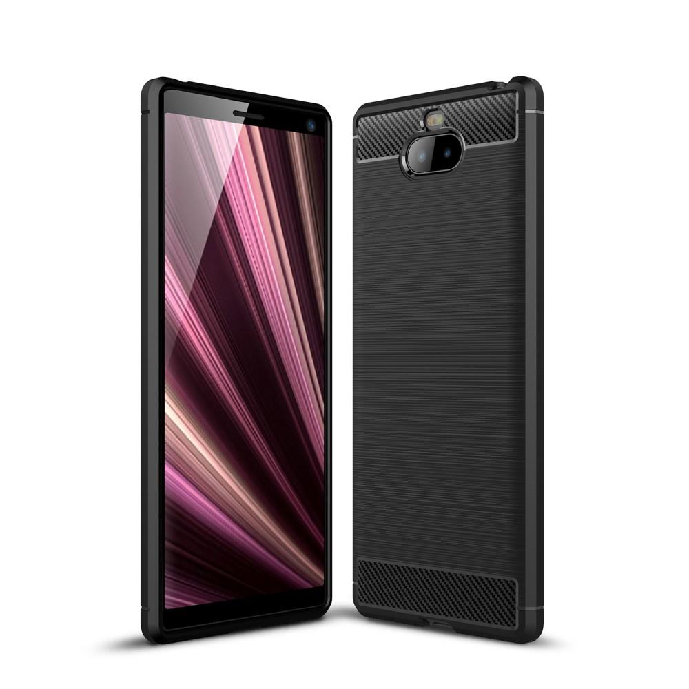 Brushed TPU Kuori Sony Xperia 10 Plus Black