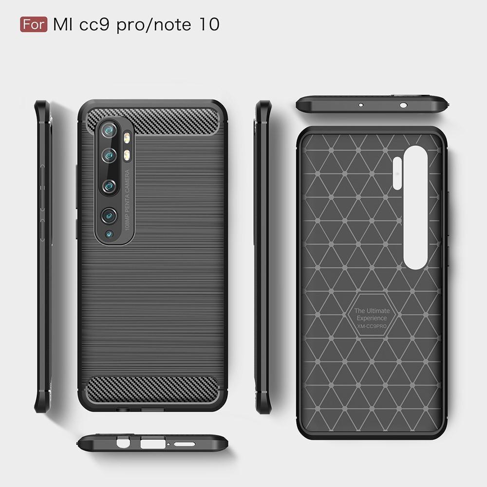 Brushed TPU Kuori Xiaomi Mi Note 10/10 Pro Black