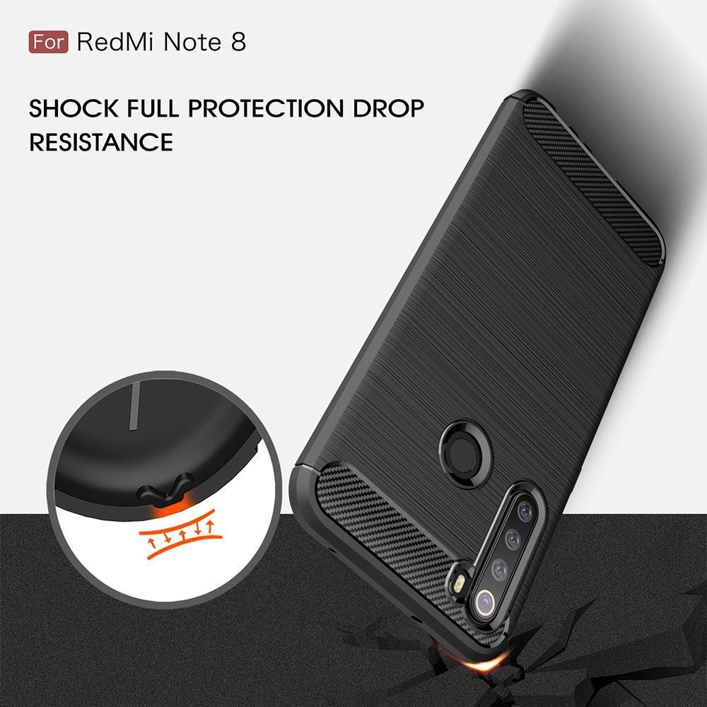 Brushed TPU Kuori Xiaomi Redmi Note 8 Black