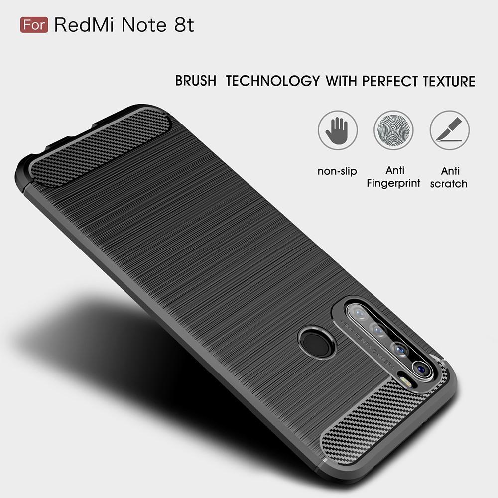 Brushed TPU Kuori Xiaomi Redmi Note 8T Black