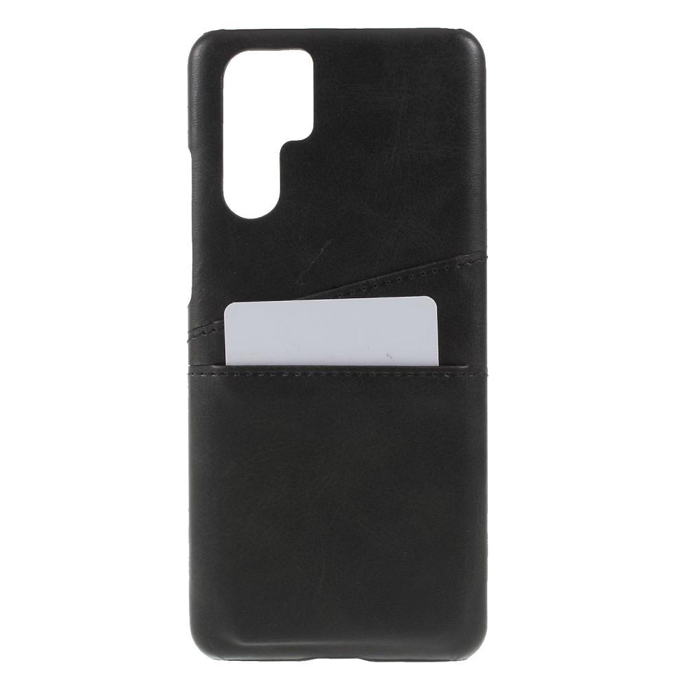 Card Slots Case Huawei P30 Pro musta