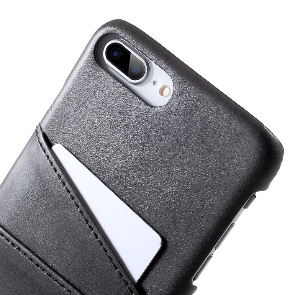 Card Slots Case iPhone 7 Plus/8 Plus musta