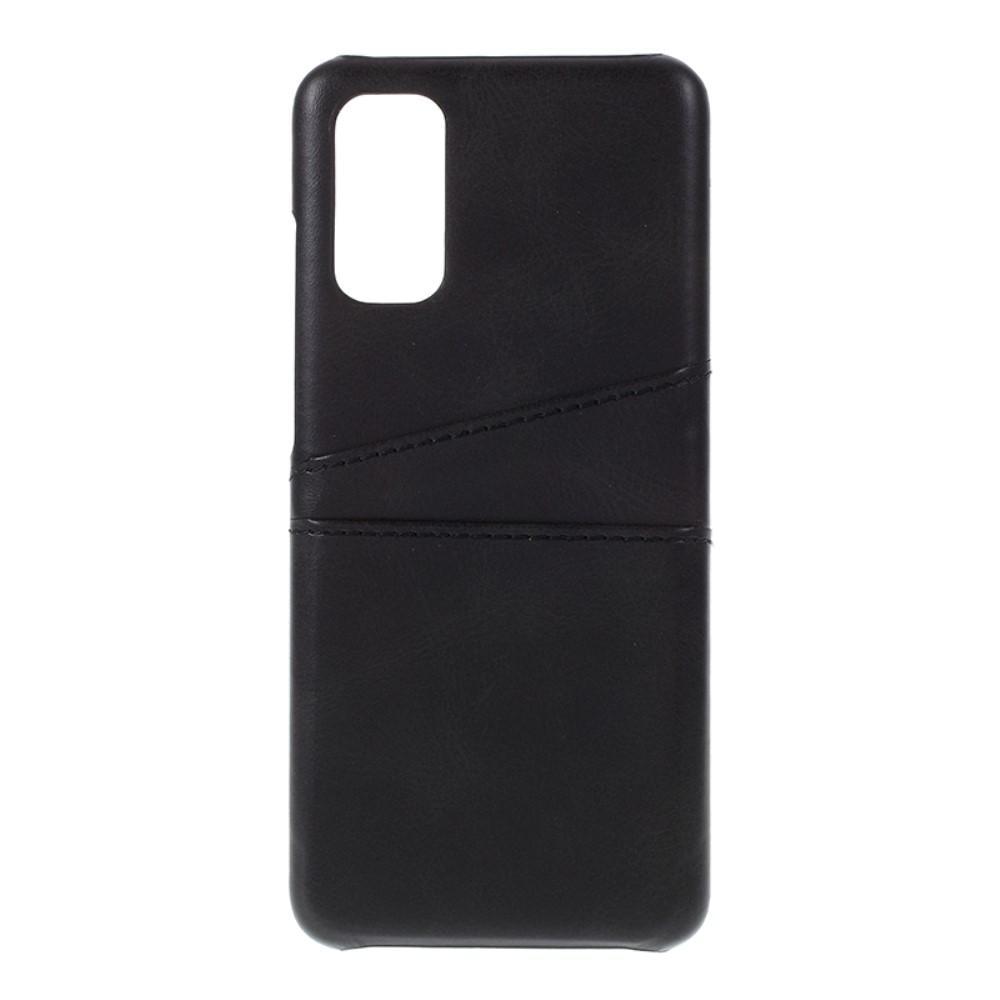 Card Slots Case Samsung Galaxy S20 musta
