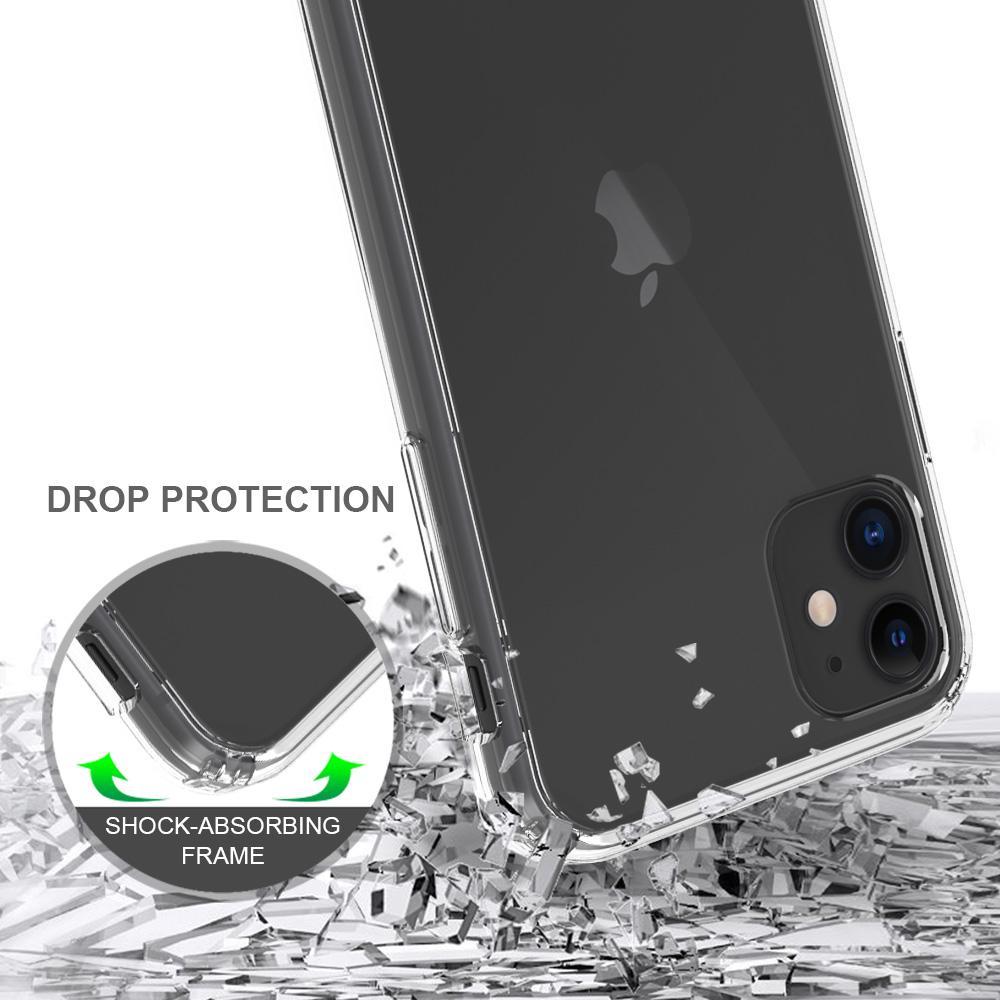 Crystal Hybrid Case iPhone 11 Transparent