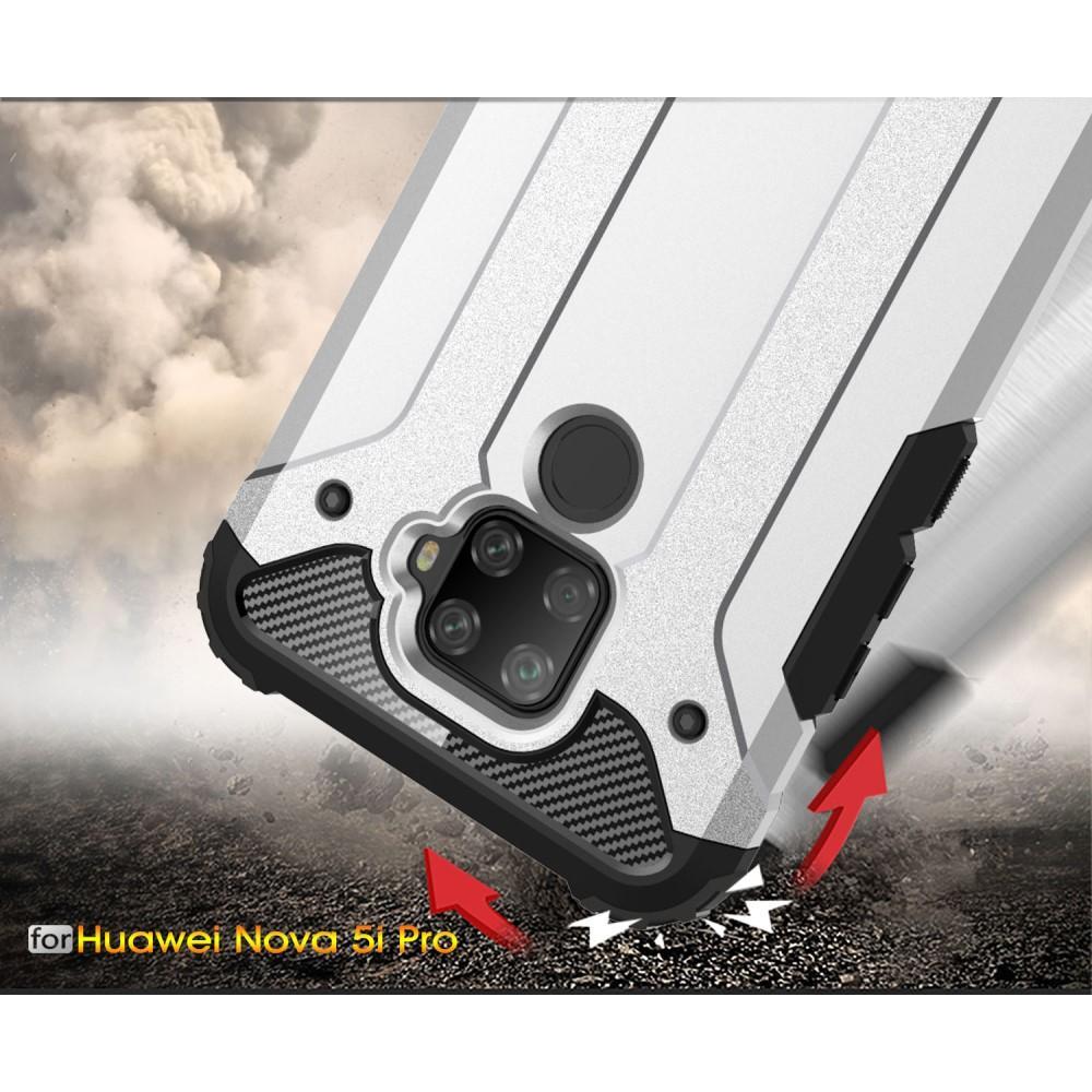 Hybridikuori Tough Huawei Mate 30 Lite musta