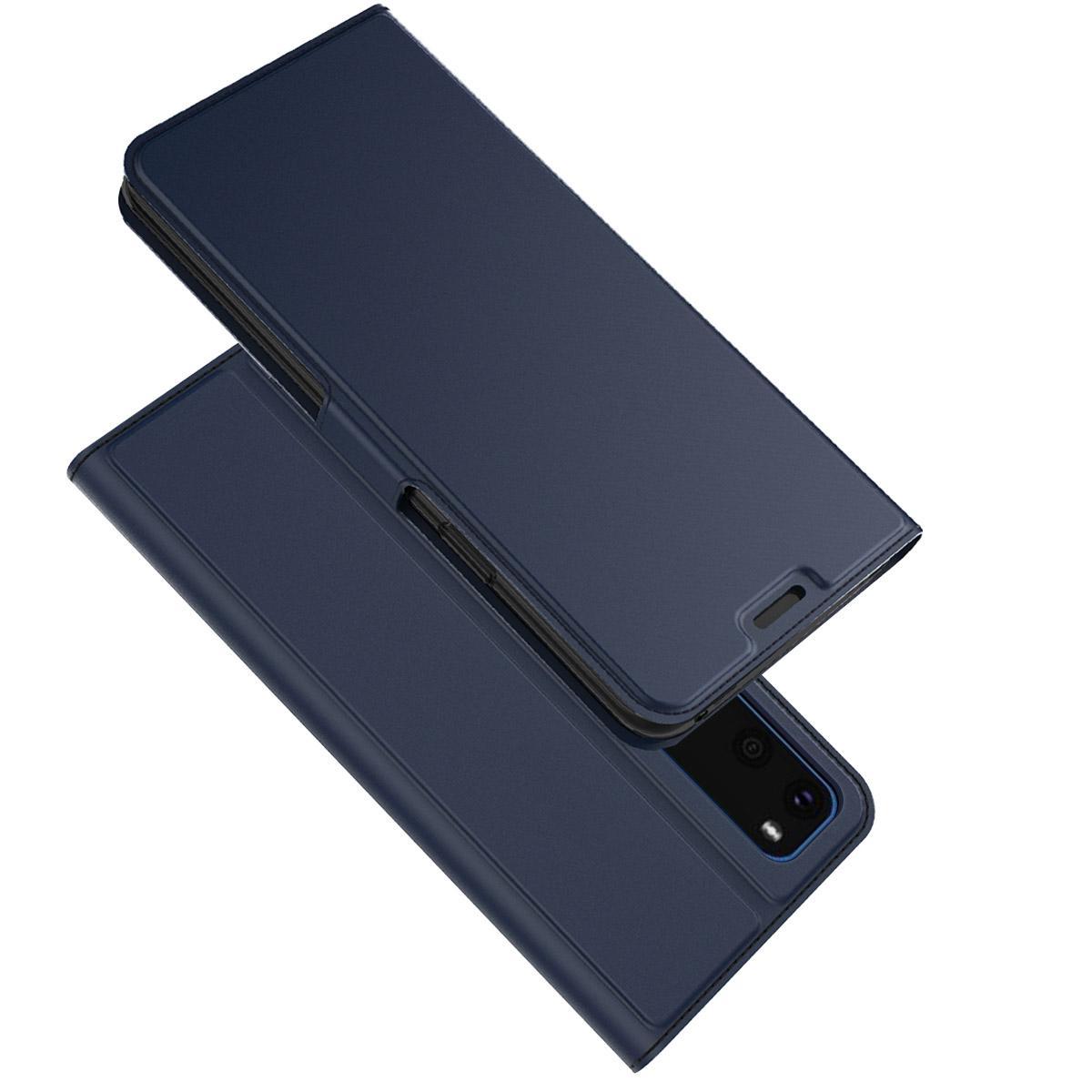 Slim Card Wallet Galaxy S20 sininen
