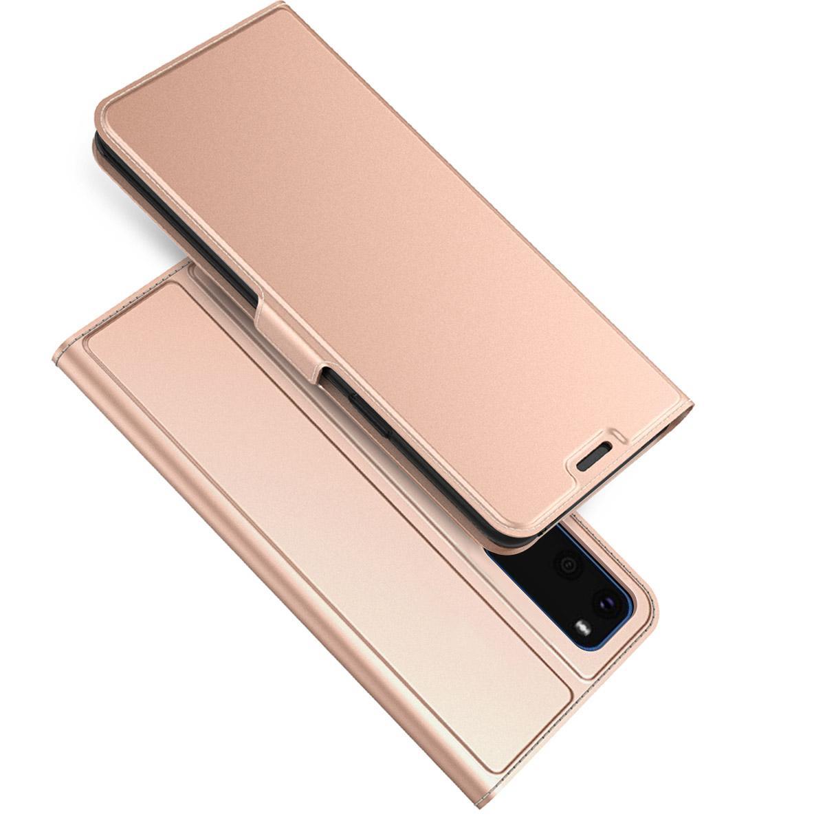 Slim Card Wallet Galaxy S20 ruusukulta