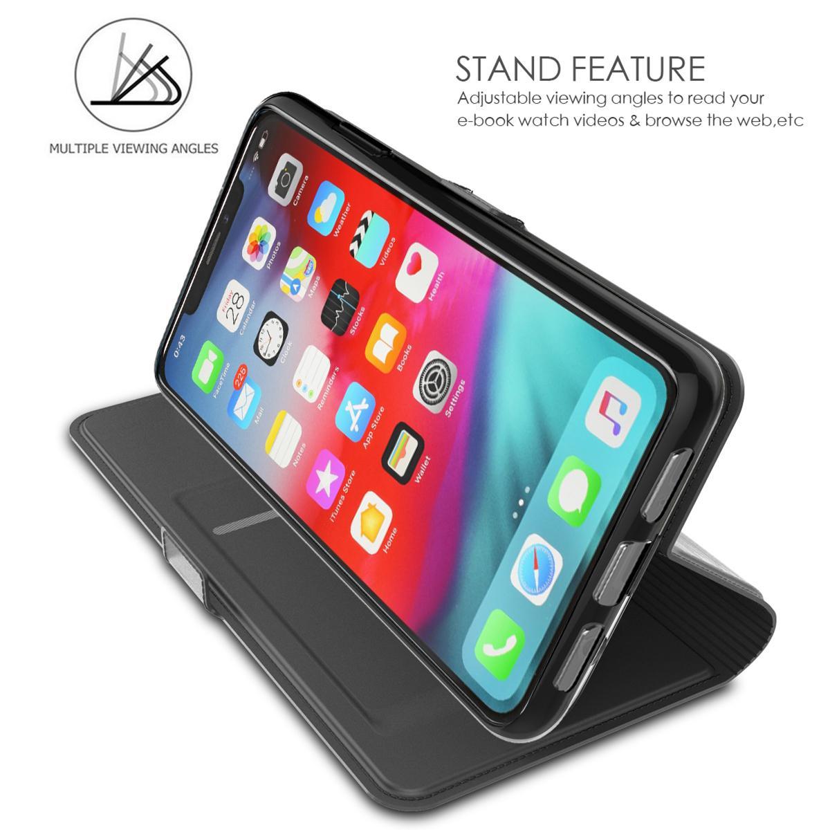 Slim Card Wallet iPhone 11 Pro musta