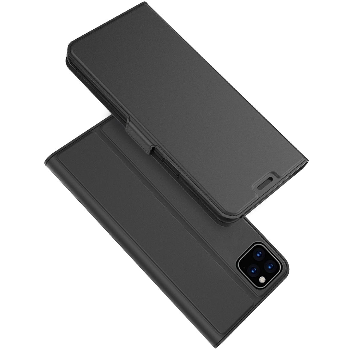 Slim Card Wallet iPhone 11 musta