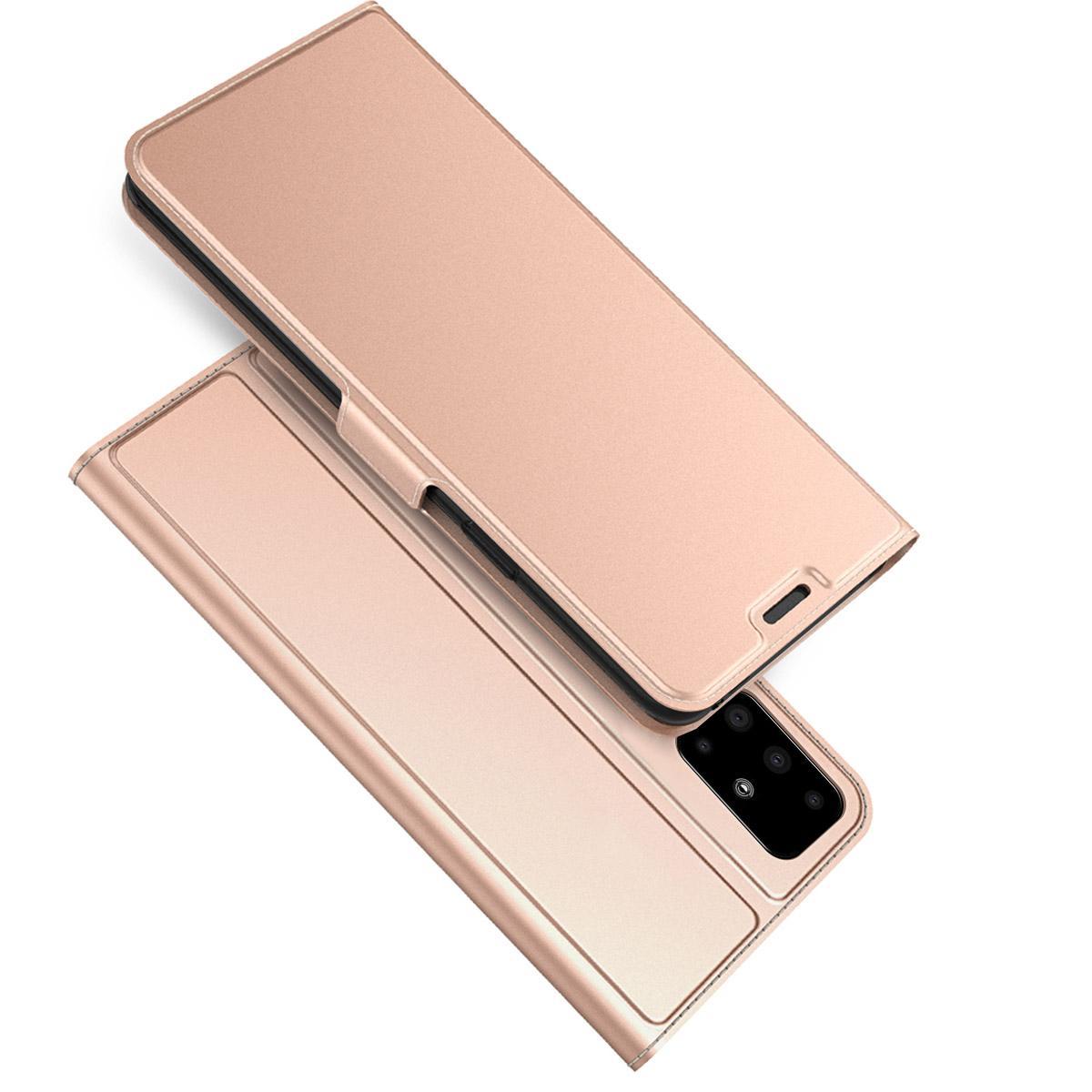 Slim Card Wallet Samsung Galaxy A51 ruusukulta
