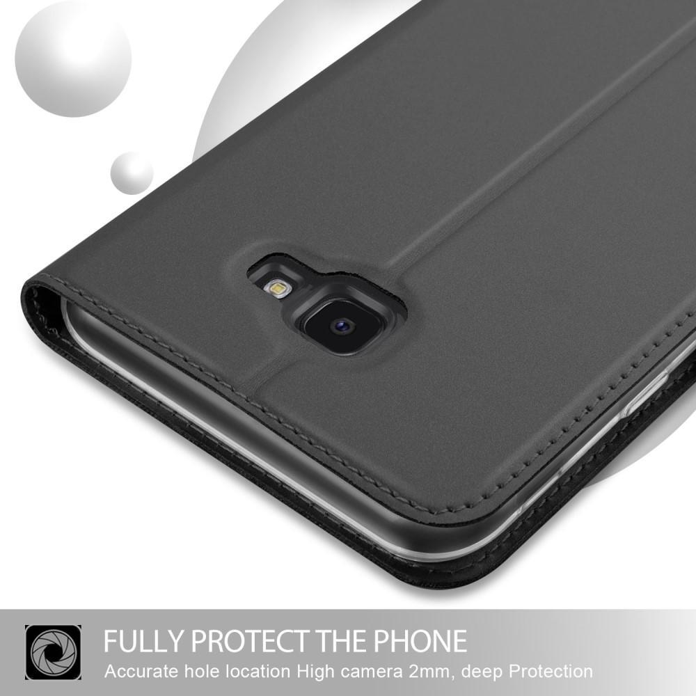 Slim Card Wallet Samsung Galaxy J4 Plus 2018 musta