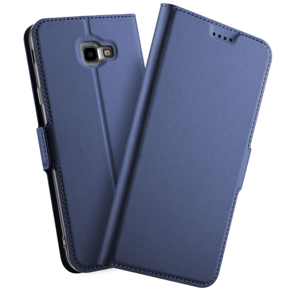 Slim Card Wallet Samsung Galaxy J4 Plus 2018 sininen