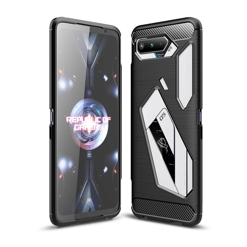 Brushed TPU Kuori Asus ROG Phone 5 Black