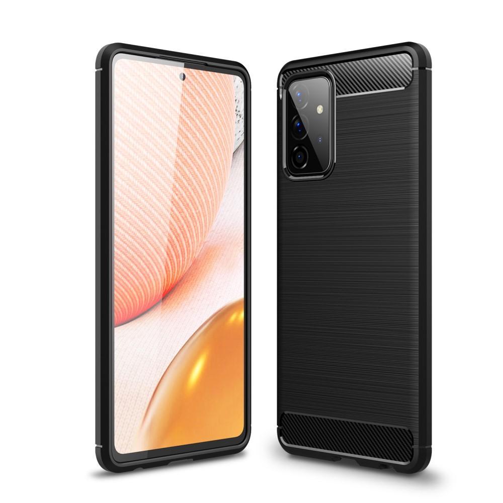 Brushed TPU Kuori Galaxy A72 5G Black