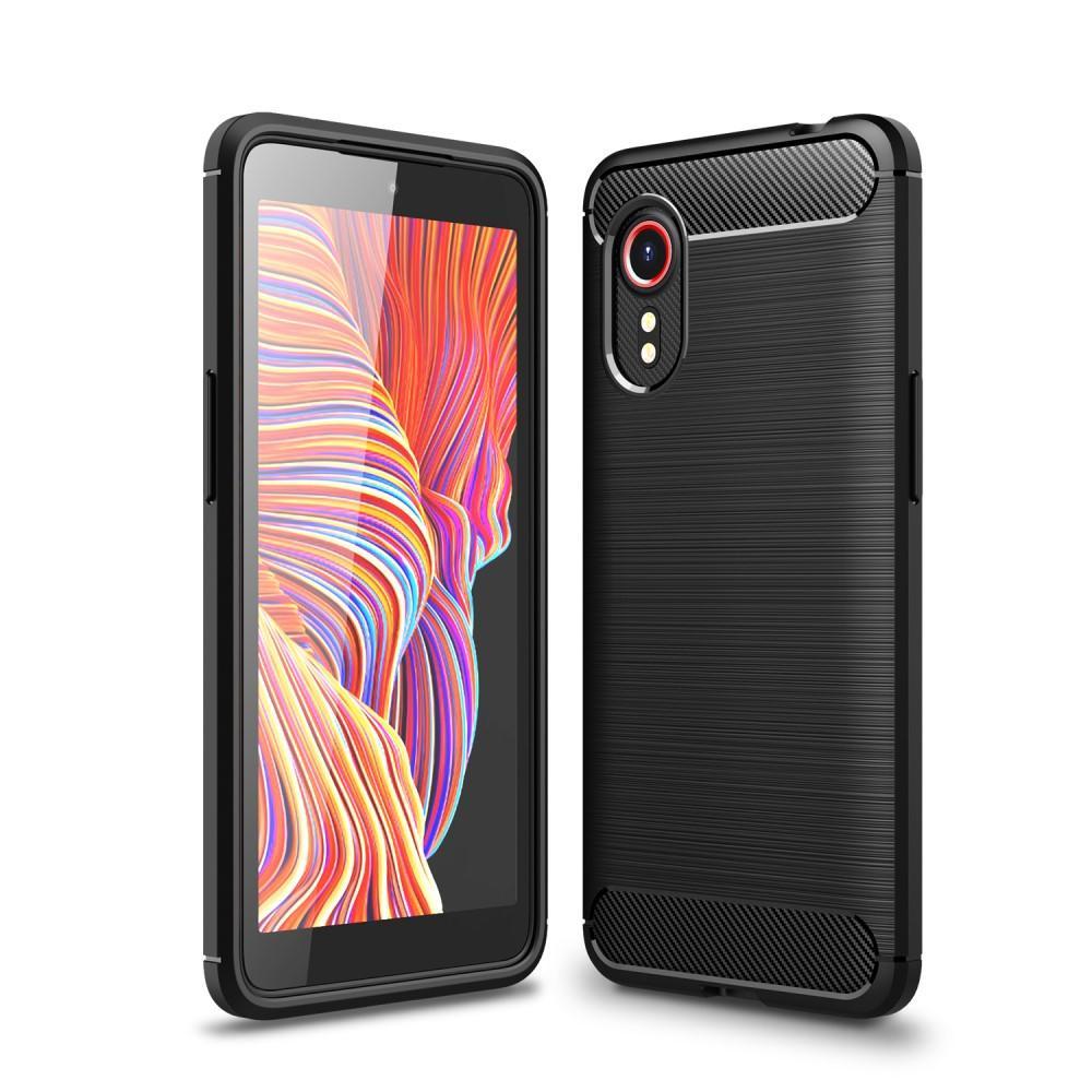 Brushed TPU Kuori Galaxy Xcover 5 Black