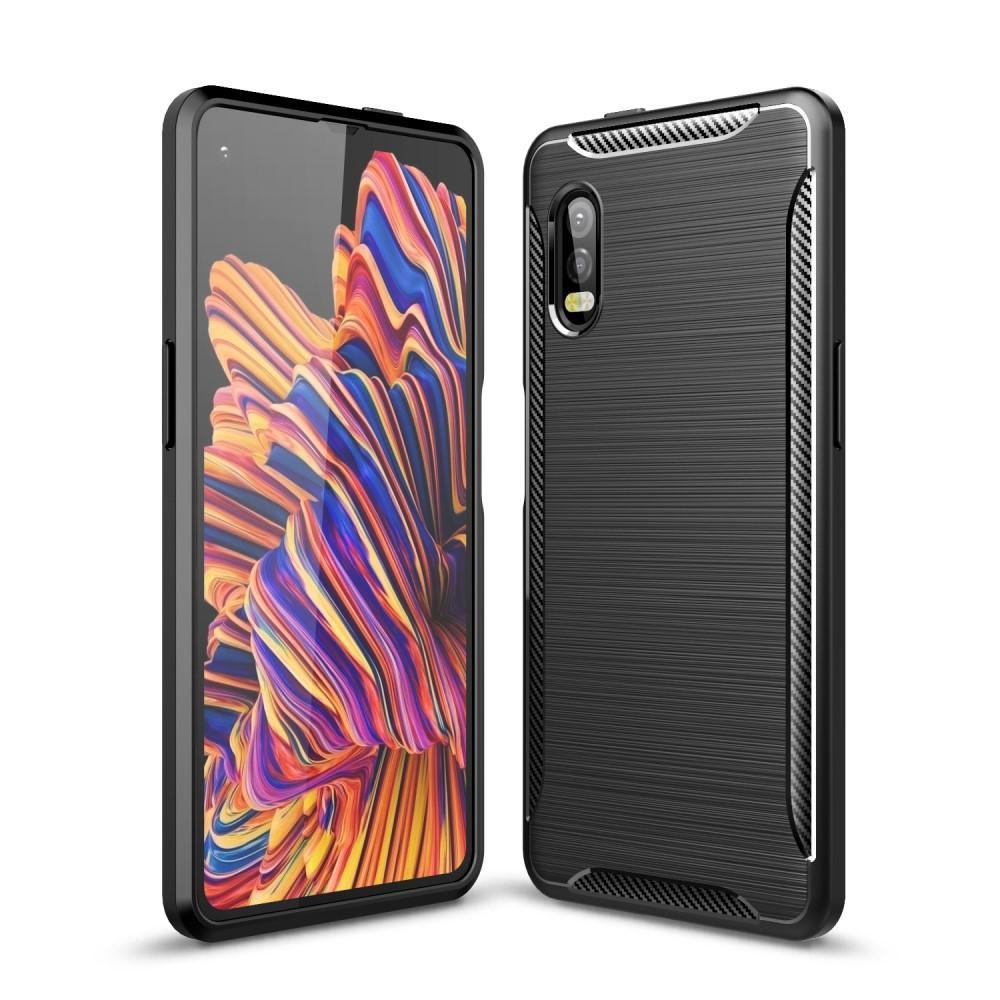 Brushed TPU Kuori Galaxy Xcover Pro Black
