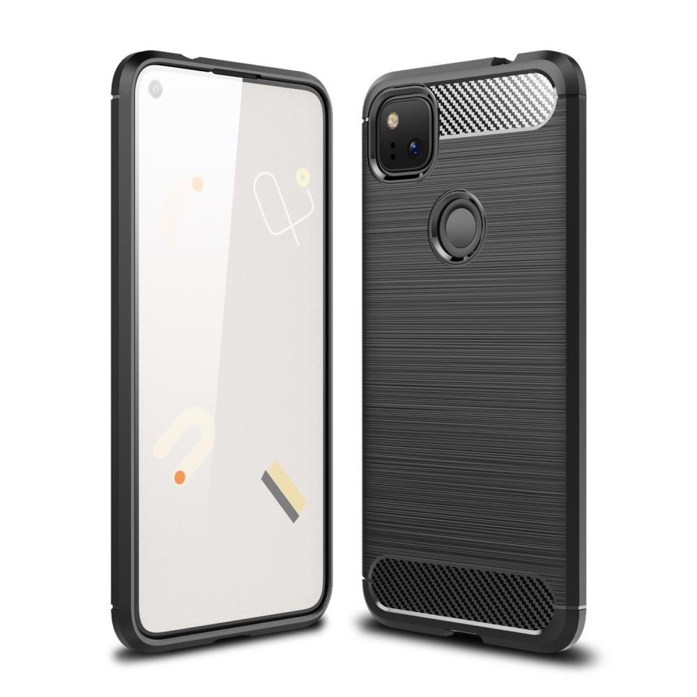 Brushed TPU Kuori Google Pixel 4a Black