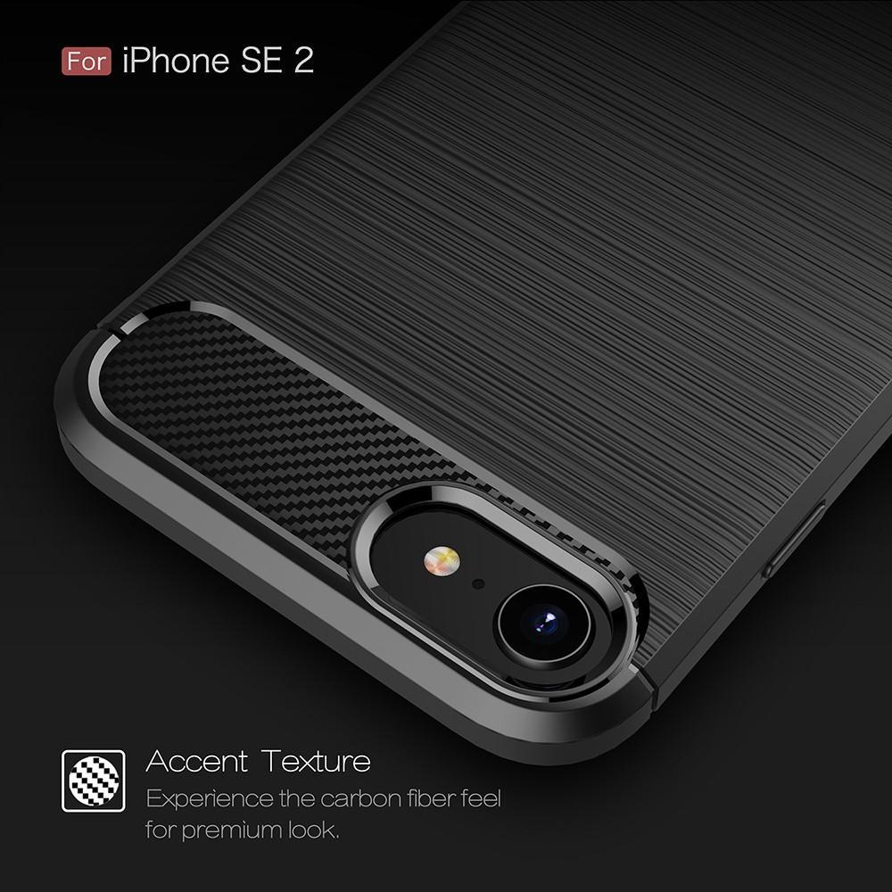 Brushed TPU Kuori iPhone 7/8/SE 2020 black