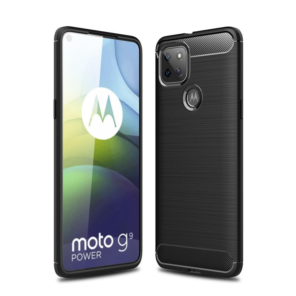 Brushed TPU Kuori Motorola Moto G9 Power Black