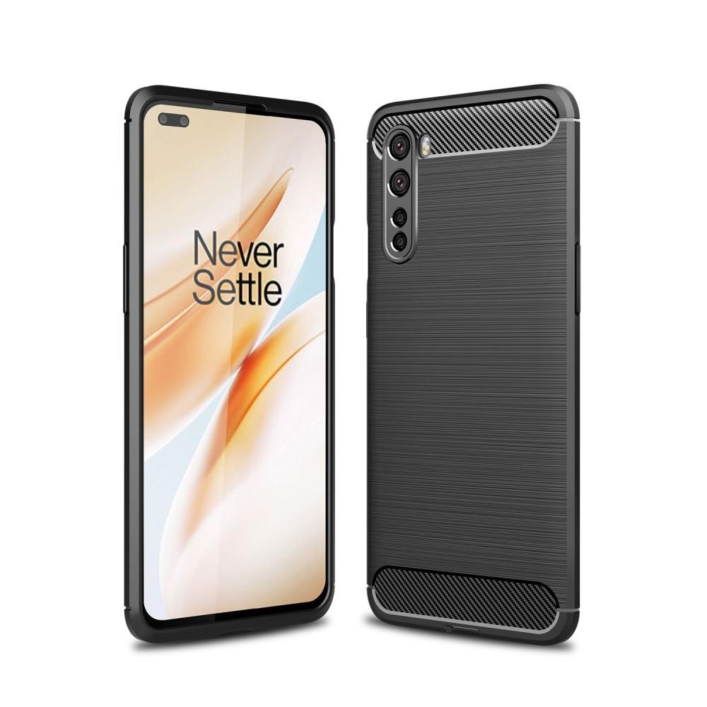 Brushed TPU Kuori OnePlus Nord Black