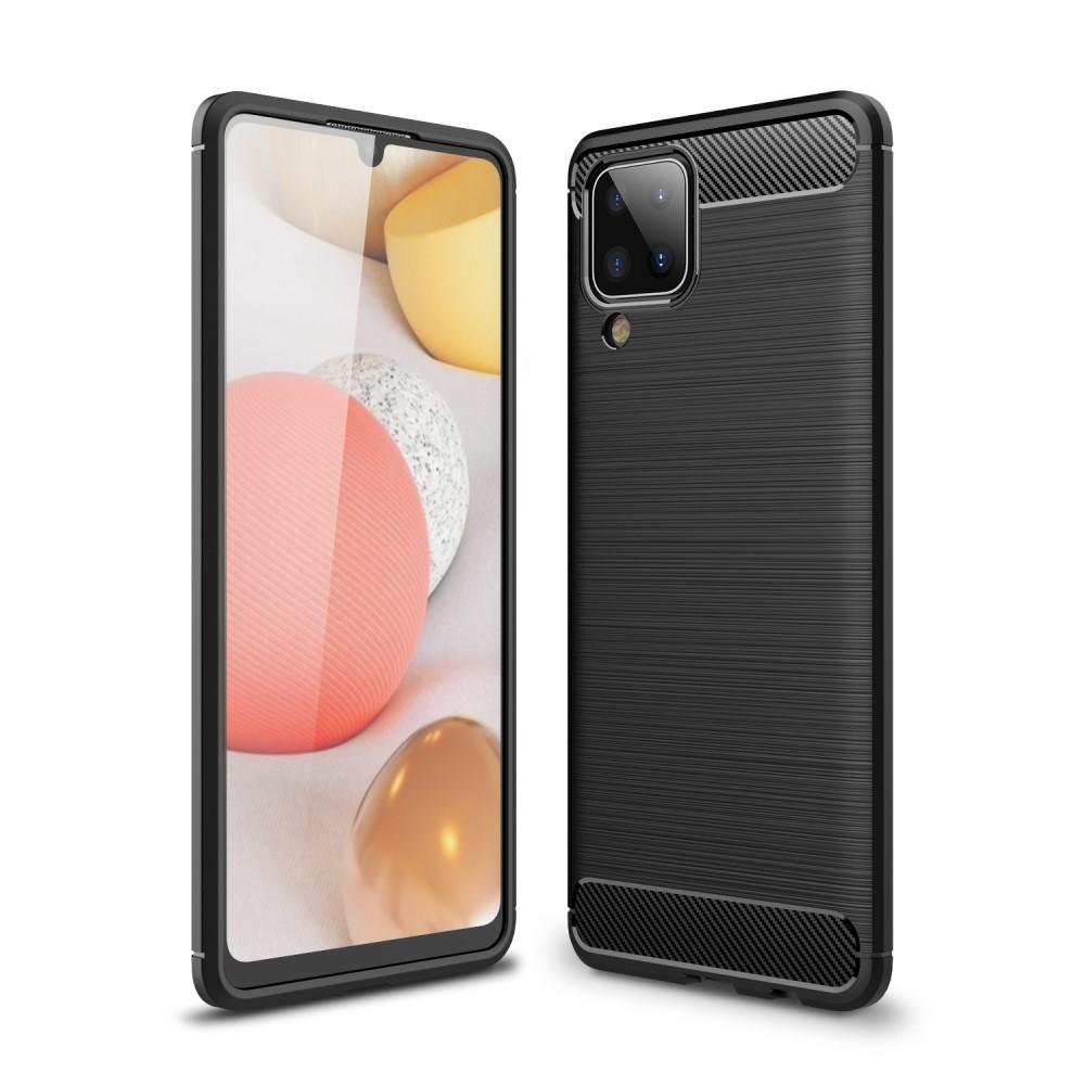 Brushed TPU Kuori Samsung Galaxy A12 Black