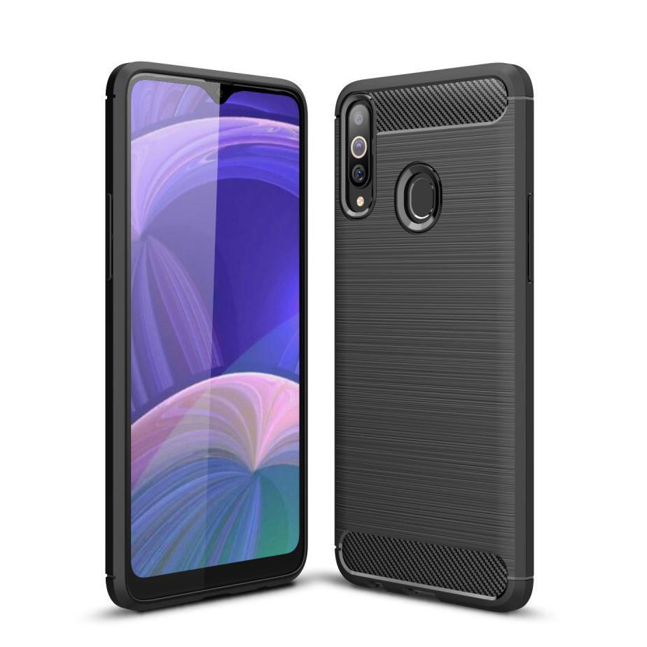 Brushed TPU Kuori Samsung Galaxy A20s Black