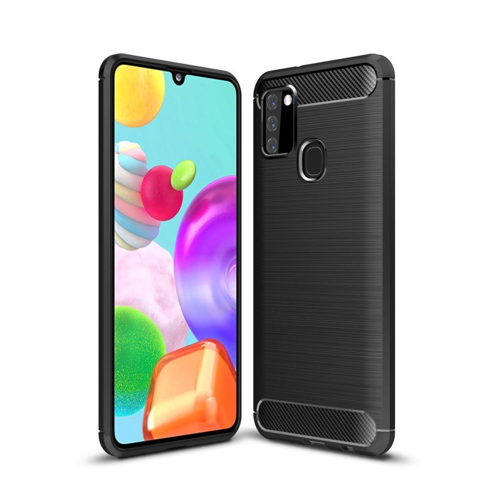 Brushed TPU Kuori Samsung Galaxy A21s Black