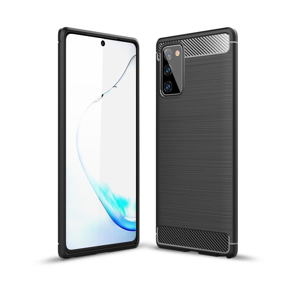 Brushed TPU Kuori Samsung Galaxy Note 20 Black