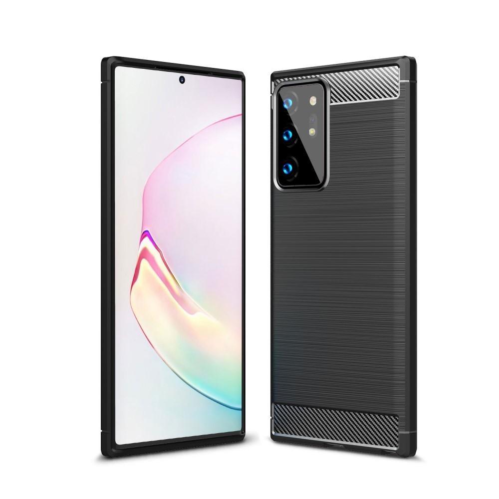 Brushed TPU Kuori Samsung Galaxy Note 20 Ultra Black