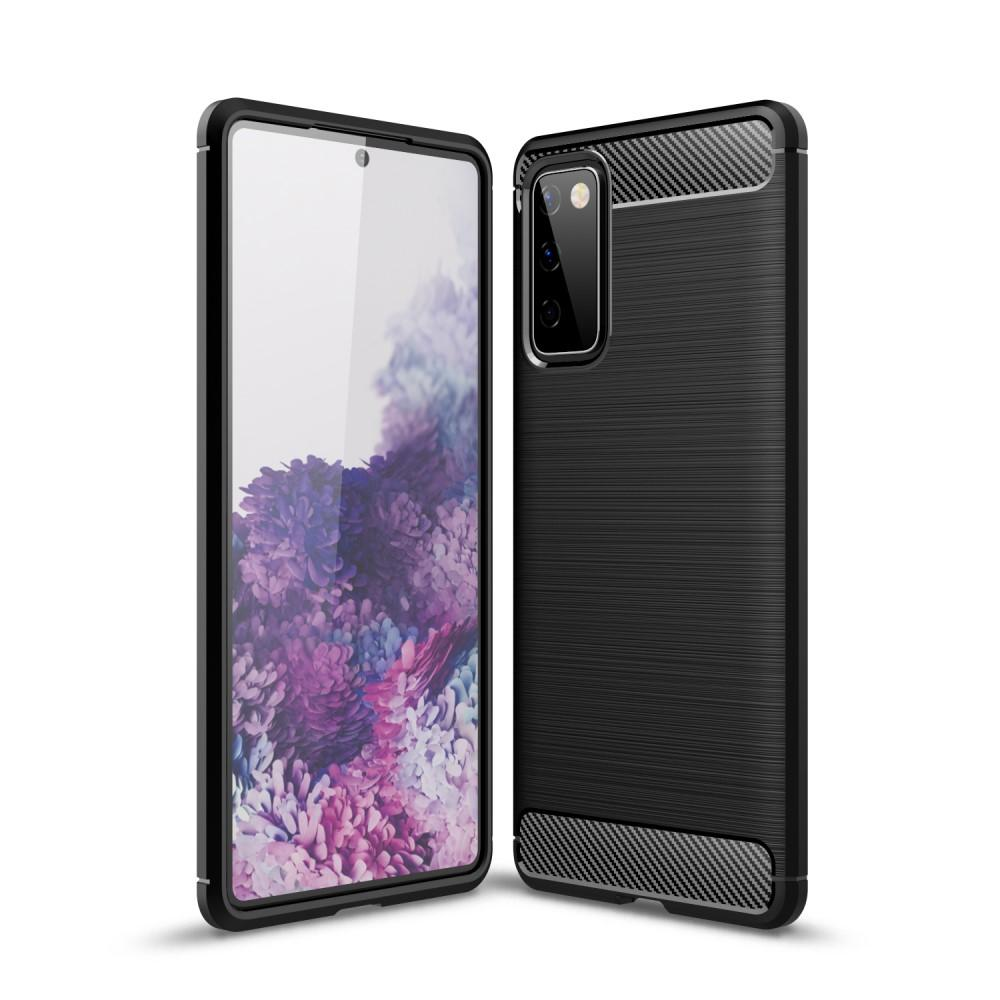 Brushed TPU Kuori Samsung Galaxy S20 FE Black