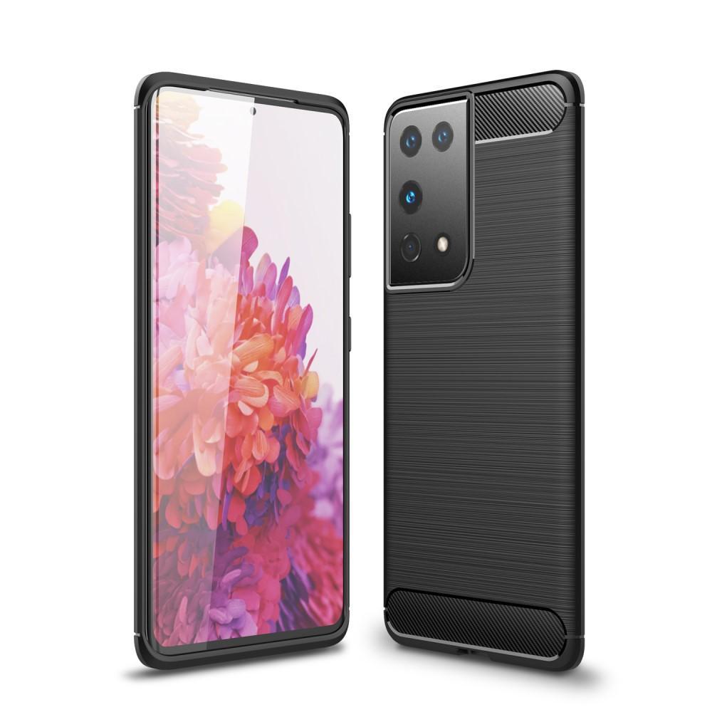 Brushed TPU Kuori Samsung Galaxy S21 Ultra Black