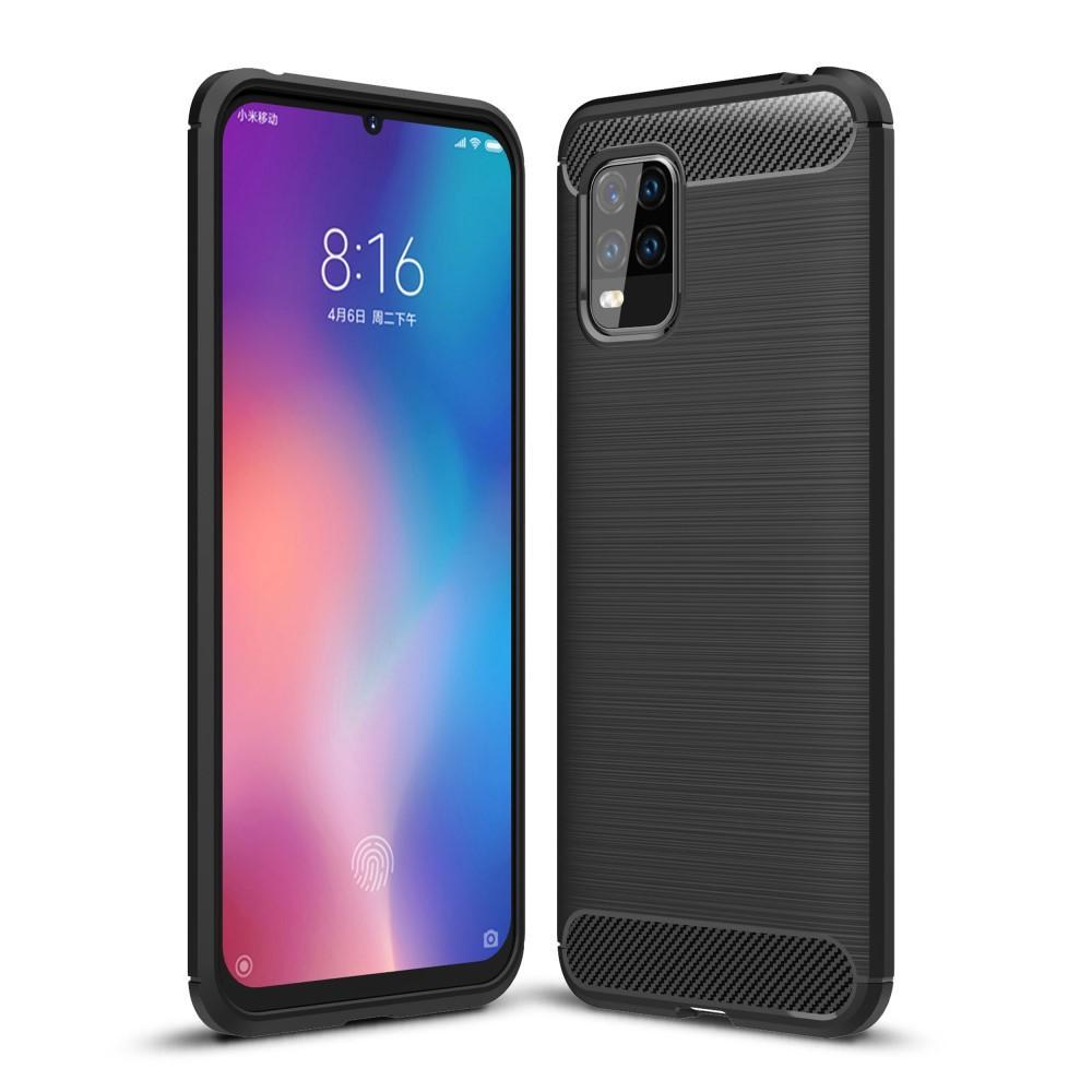 Brushed TPU Kuori Xiaomi Mi 10 Lite Black