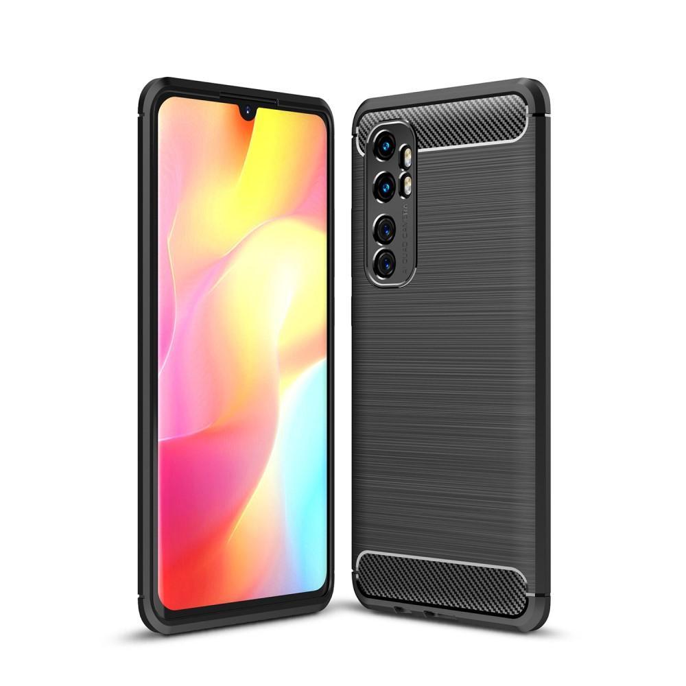 Brushed TPU Kuori Xiaomi Mi Note 10 Lite Black