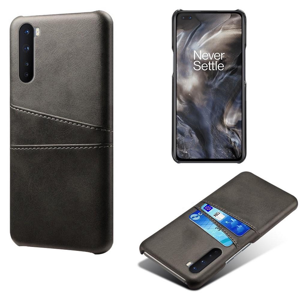 Card Slots Case OnePlus Nord musta