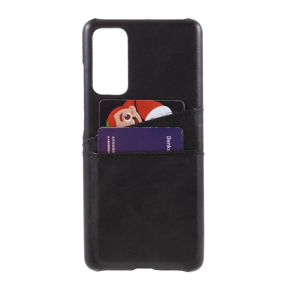 Card Slots Case Samsung Galaxy S20 FE musta