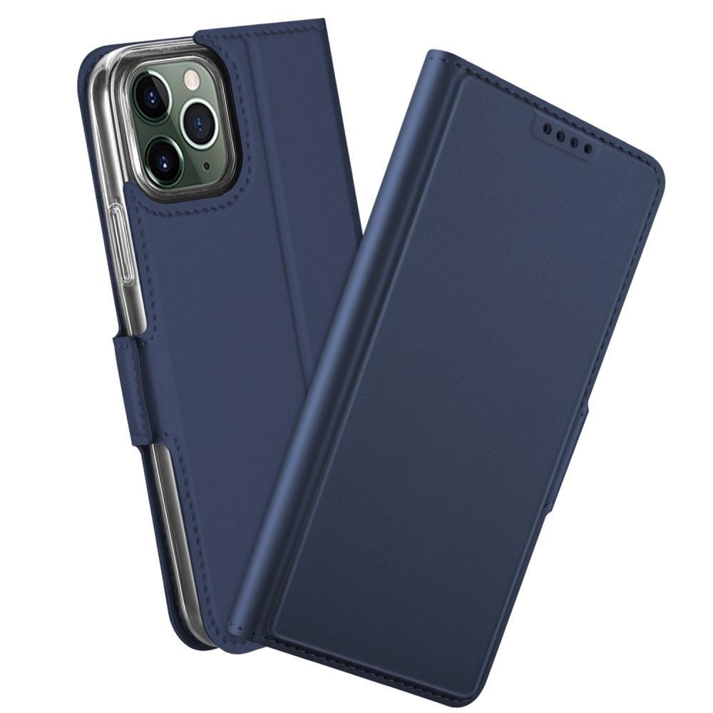 Slim Card Wallet iPhone 12/12 Pro sininen