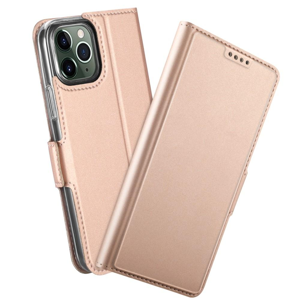 Slim Card Wallet iPhone 12/12 Pro ruusukulta