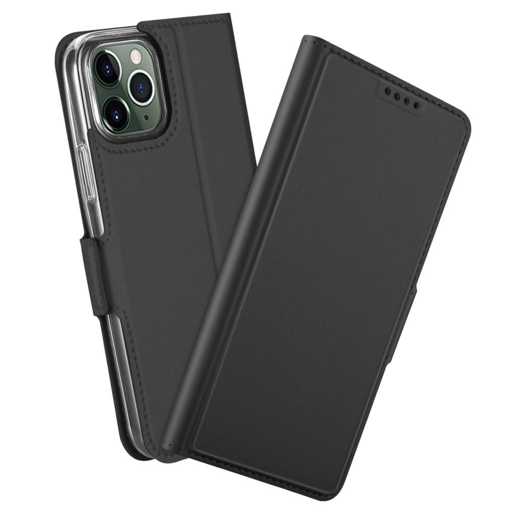 Slim Card Wallet iPhone 12/12 Pro musta